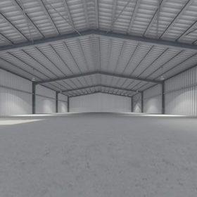 Çelik Hangar Modeli