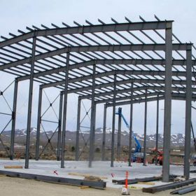 Çelik Konstrüksiyon Hangar Depo