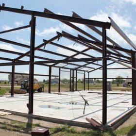 Çelik Konstrüksiyon Hangar Projesi