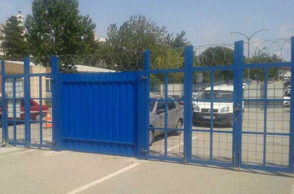 Şantiye Giriş Çıkış Kapısı