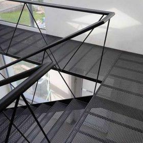 Çelik Dekoratif Merdiven
