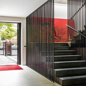 Çelik Dekoratif Z Merdiven