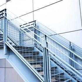 Çelik Merdiven Korkuluk Sistemleri