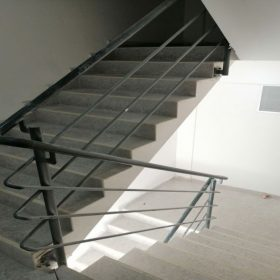Çelik Merdiven Tasarım