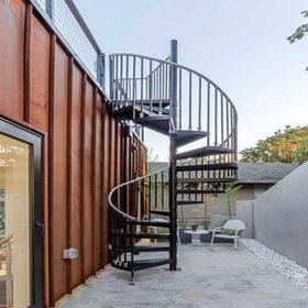 Çelik Spiral Merdiven