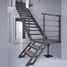 Çelik Z Tipi Merdiven