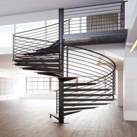 Dekoratif Çelik Döner Merdiven