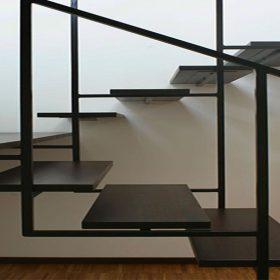 Dekoratif Çelik Merdiven