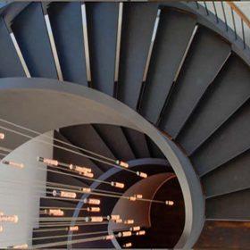 Dekoratif Spiral Merdiven