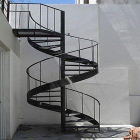 Döner Merdiven Çelik
