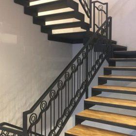 Ferforje Merdiven Korkuluk Tasarımı
