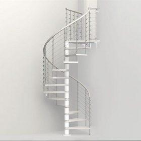 Paslanmaz Çelik Döner Merdiven