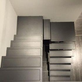 Paslanmaz Çelik Z Merdiven