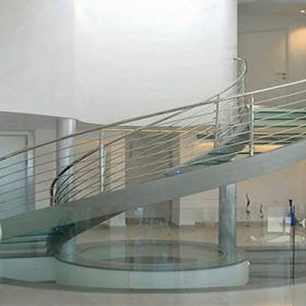 Paslanmaz Döner Merdiven
