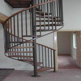 Spiral Çelik Merdivenler