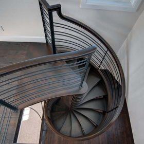 Spiral Merdiven Çelik
