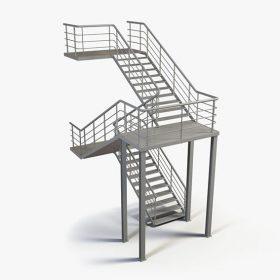 Z Tipi Yangın Merdivenleri